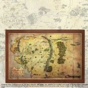 Map Of Middle Earth